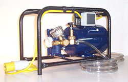 Woodworm Spraying Pump - electrical type, for large woodworm spraying jobs